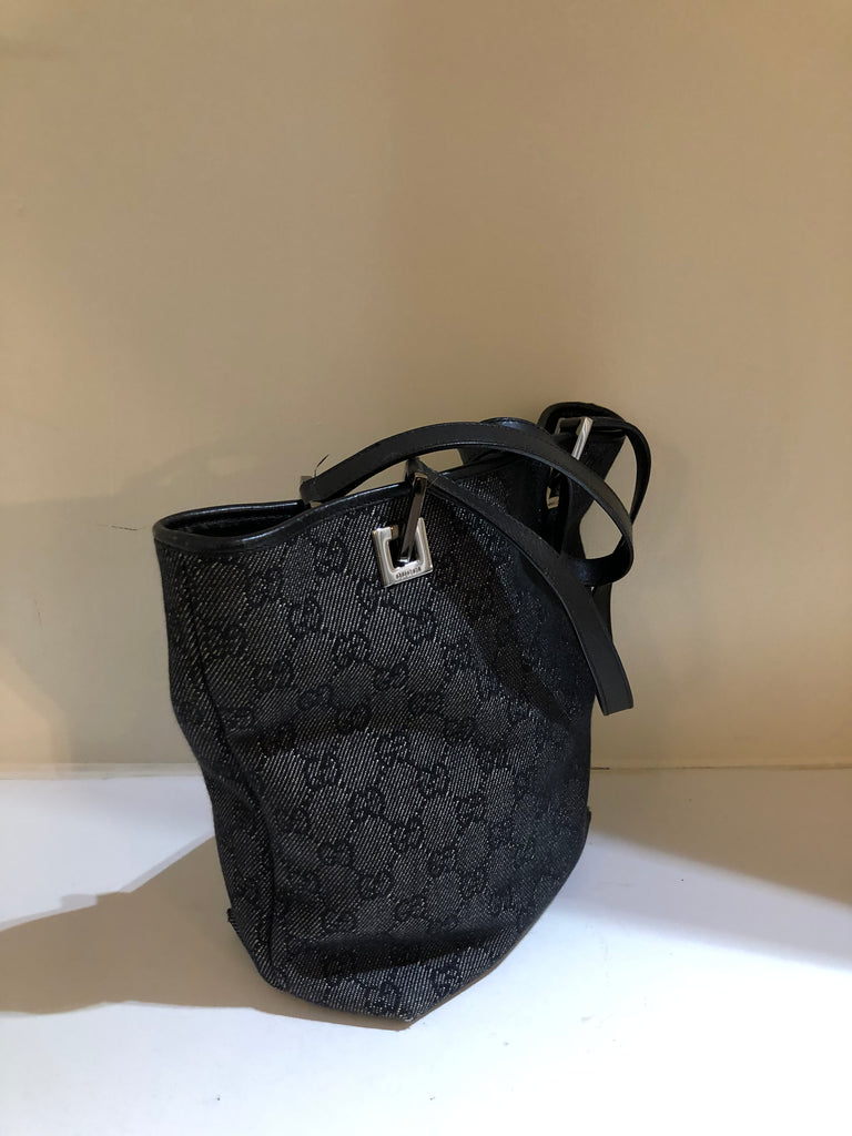GG Canvas Double Handled Mini Tote by Gucci