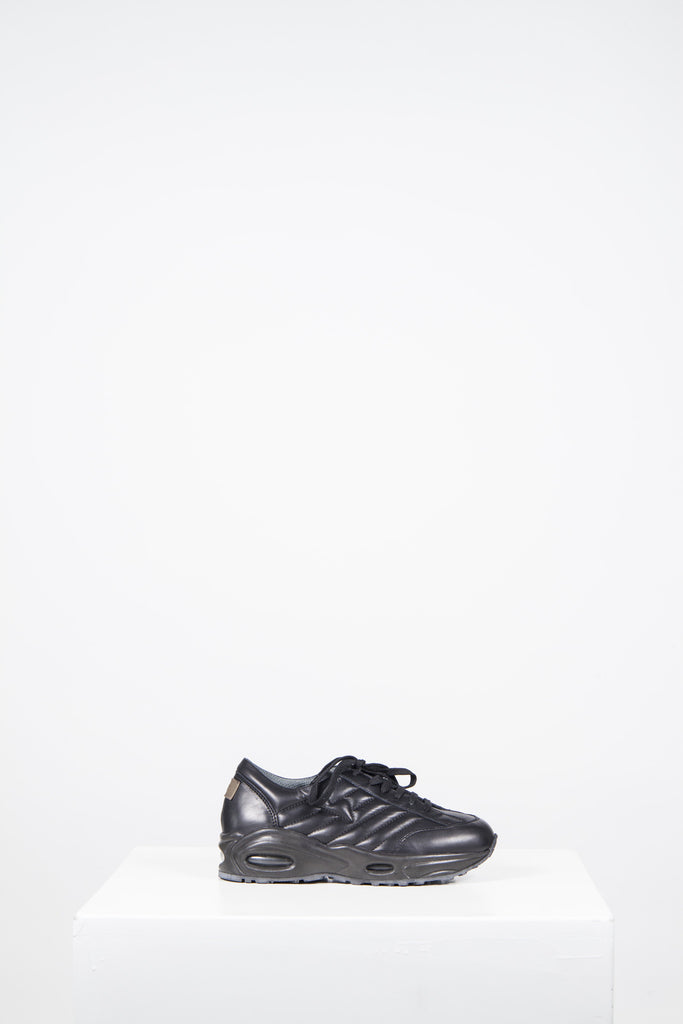 Smart leather trainers by Emporio Armani