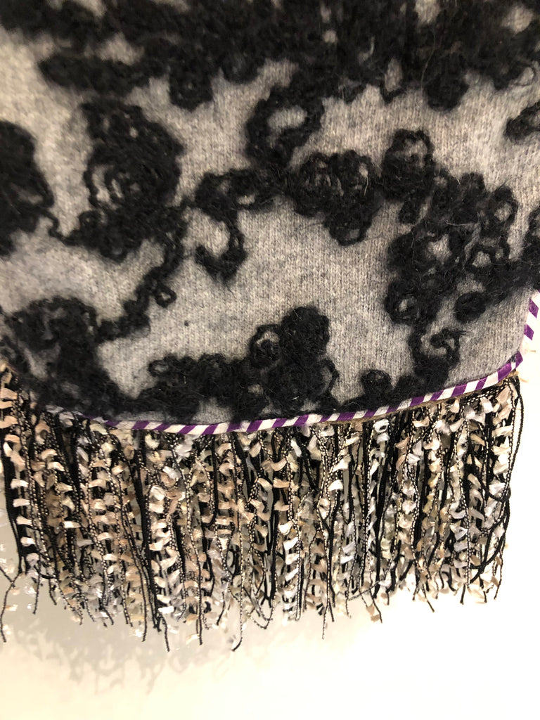 Embroidered Scarf by Voyage