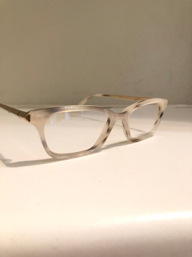 Pearl and Gold Optical Frames by Victoria Beckham