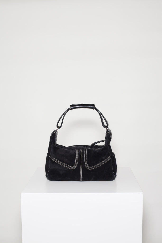 Suede Micky bag by Tod's