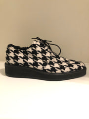 Houndstooth Brogue Shoes by Yohji Yamamoto at Isabella's Wardrobe