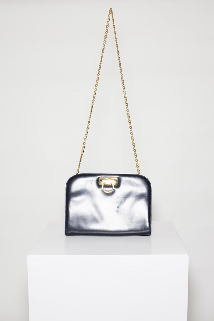 Gancini chain-strap bag by Salvatore Ferragamo