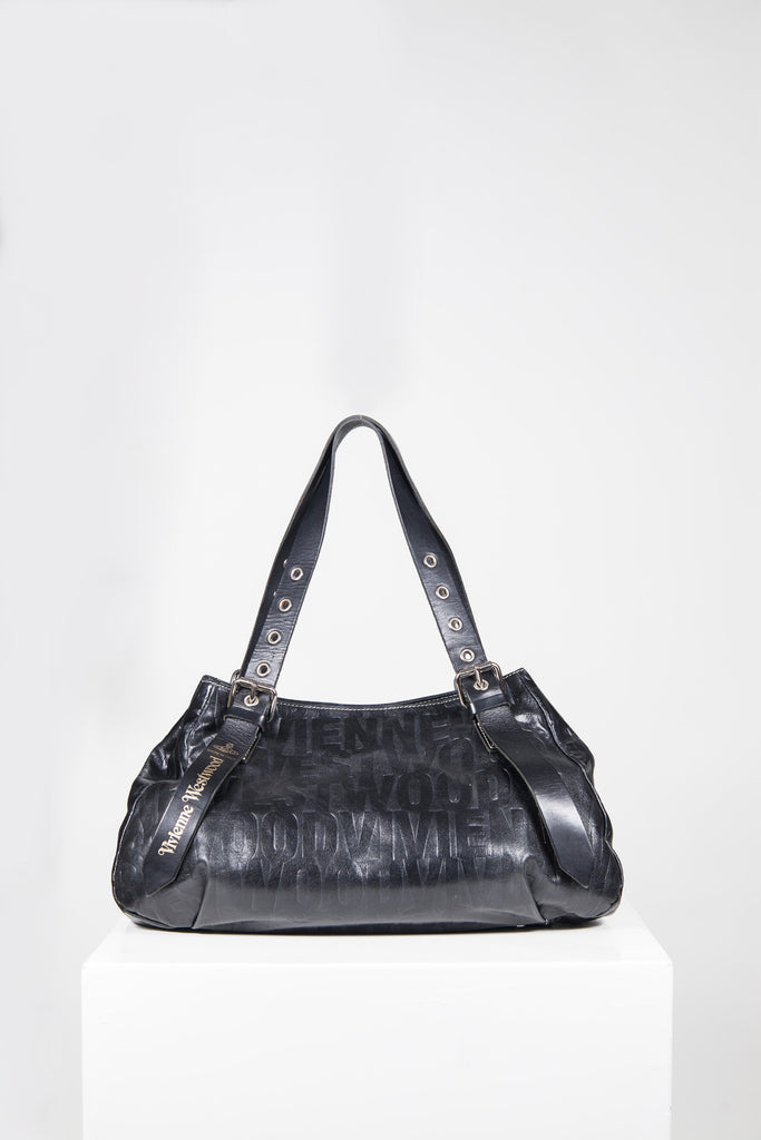 Embossed shoulder bag by Vivienne Westwood