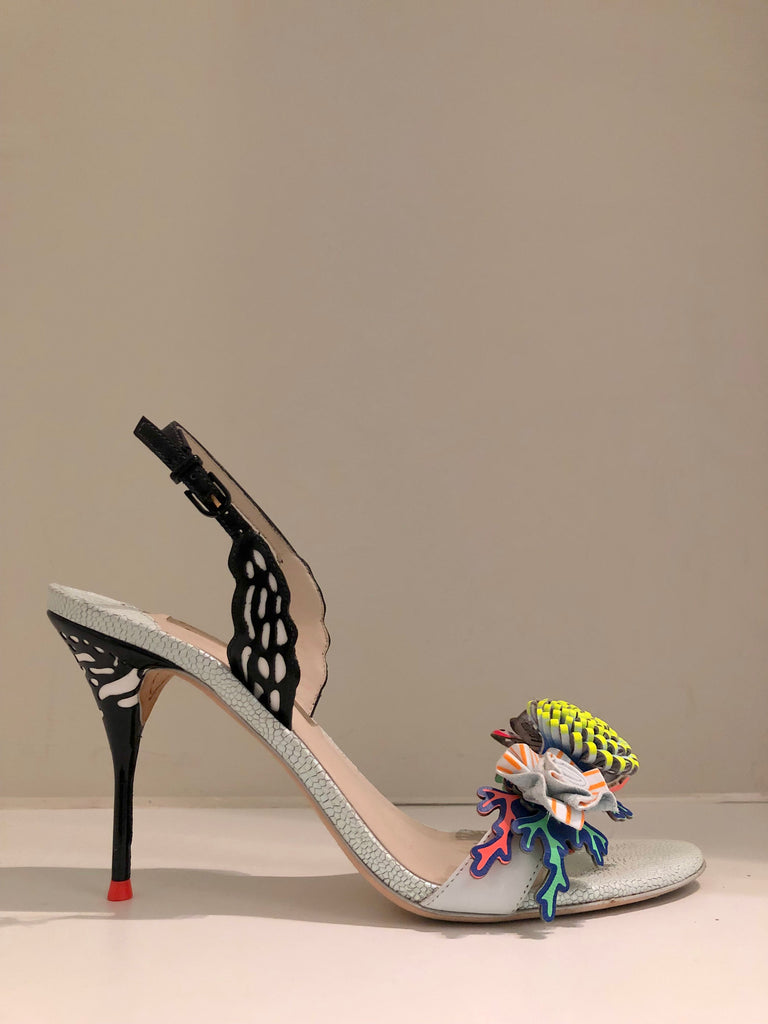 Lilico Underwater Heeled Sandals by Sophia Webster