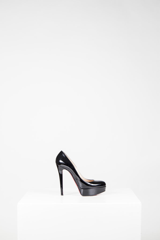 Bianca 140 patent heels by Christian Louboutin