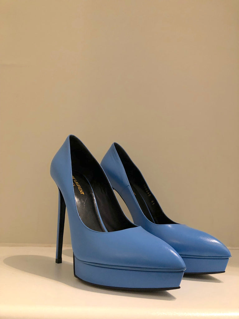 Skyscraper Heels by Saint laurent