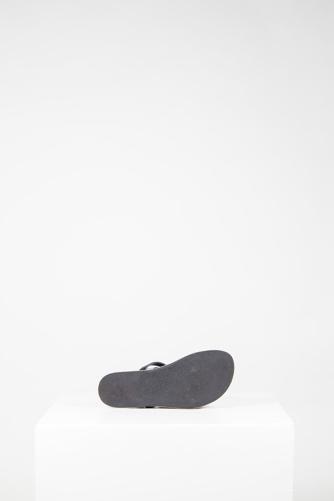 Fleur leather sandals by Acne