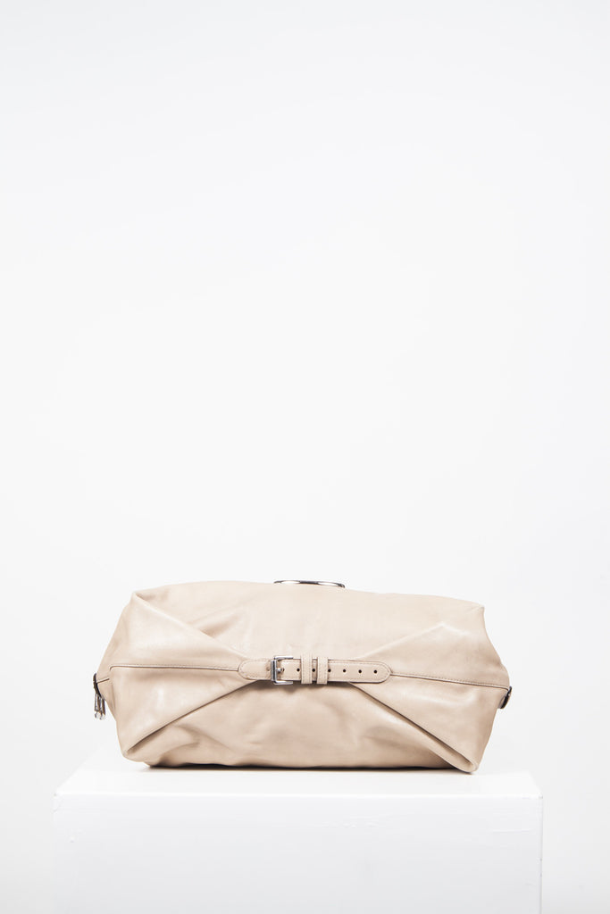 Meygan creased leather bag by Mulberry