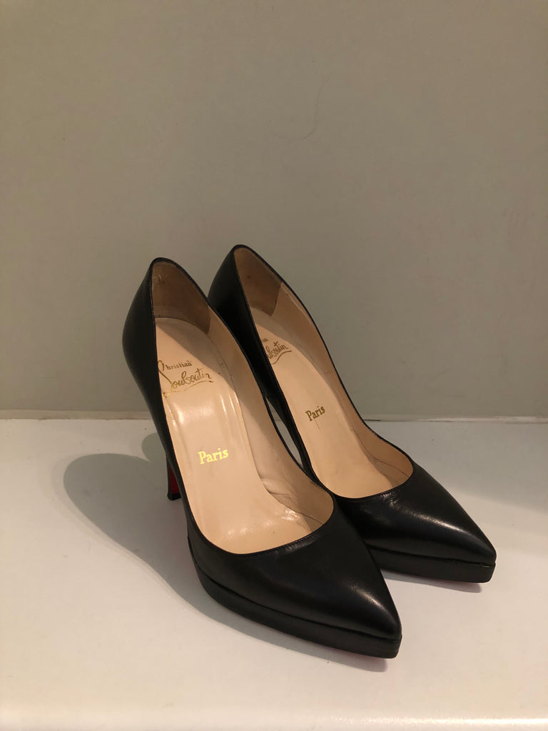 Classic 110cm Almond Toe Pump by Christian Louboutin