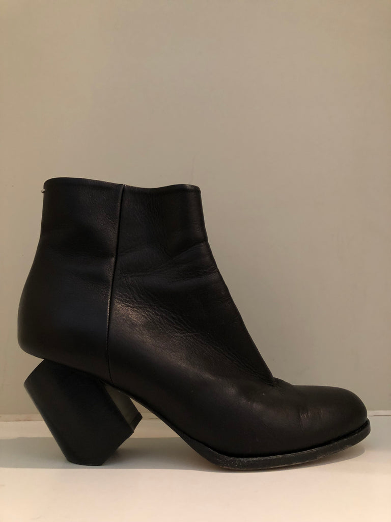 Deconstructed Ankle Boots by Maison Martin Margiela