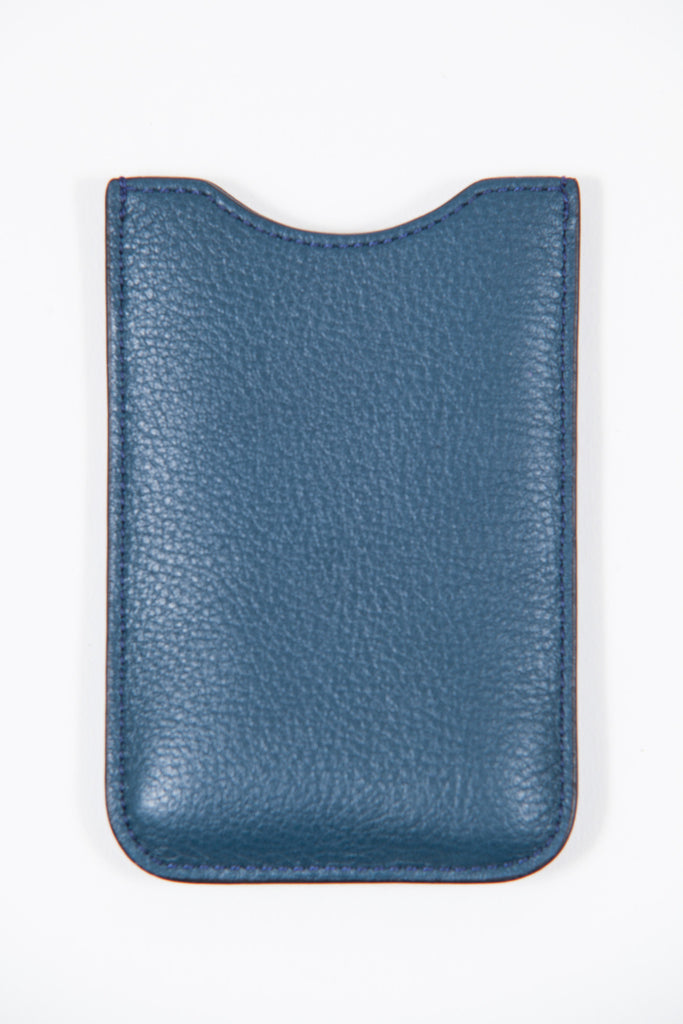 Grain leather I-phone holder by Mulberry