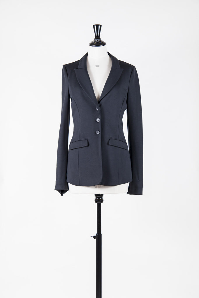 Single-breasted jersey jacket by Emporio Armani