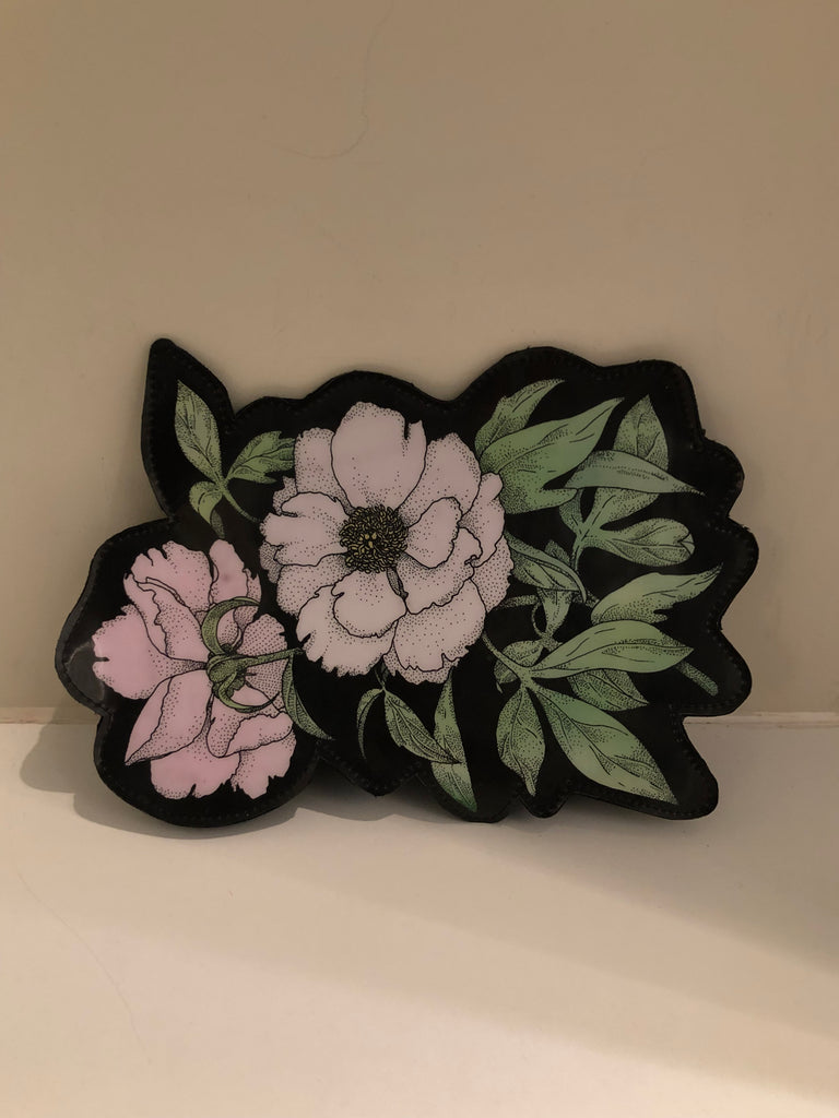 Clematis Flower Clutch Bag by Christopher Kane
