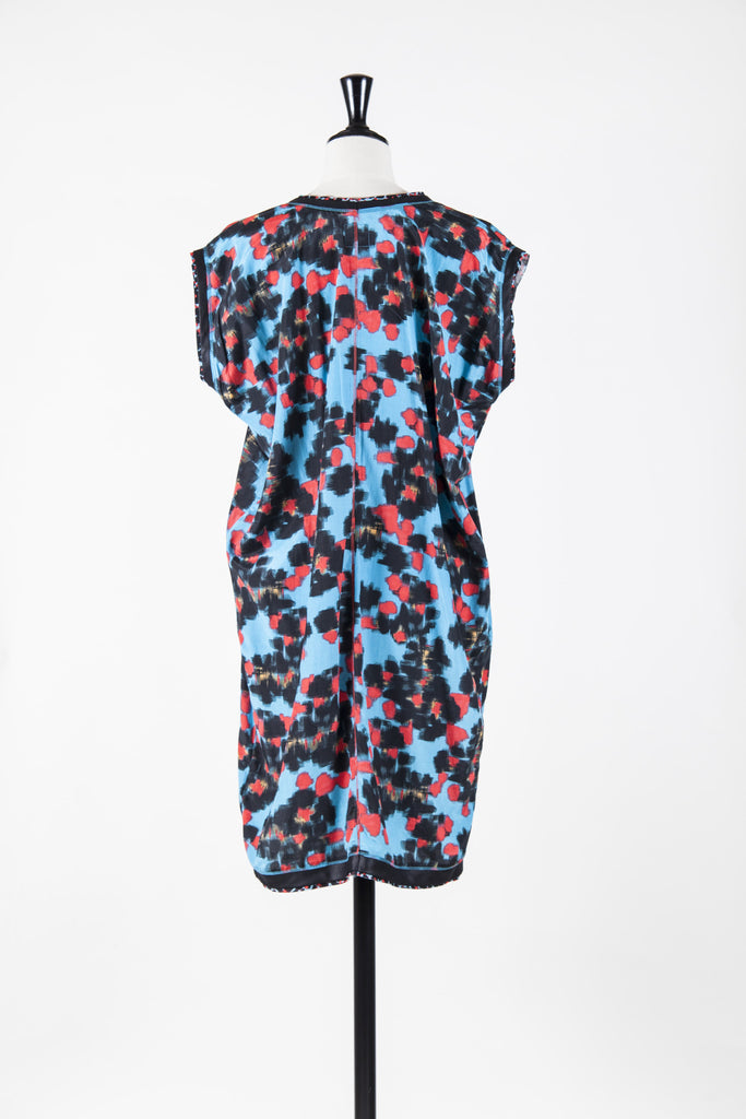 Patterned tunic dress by Paul Smith