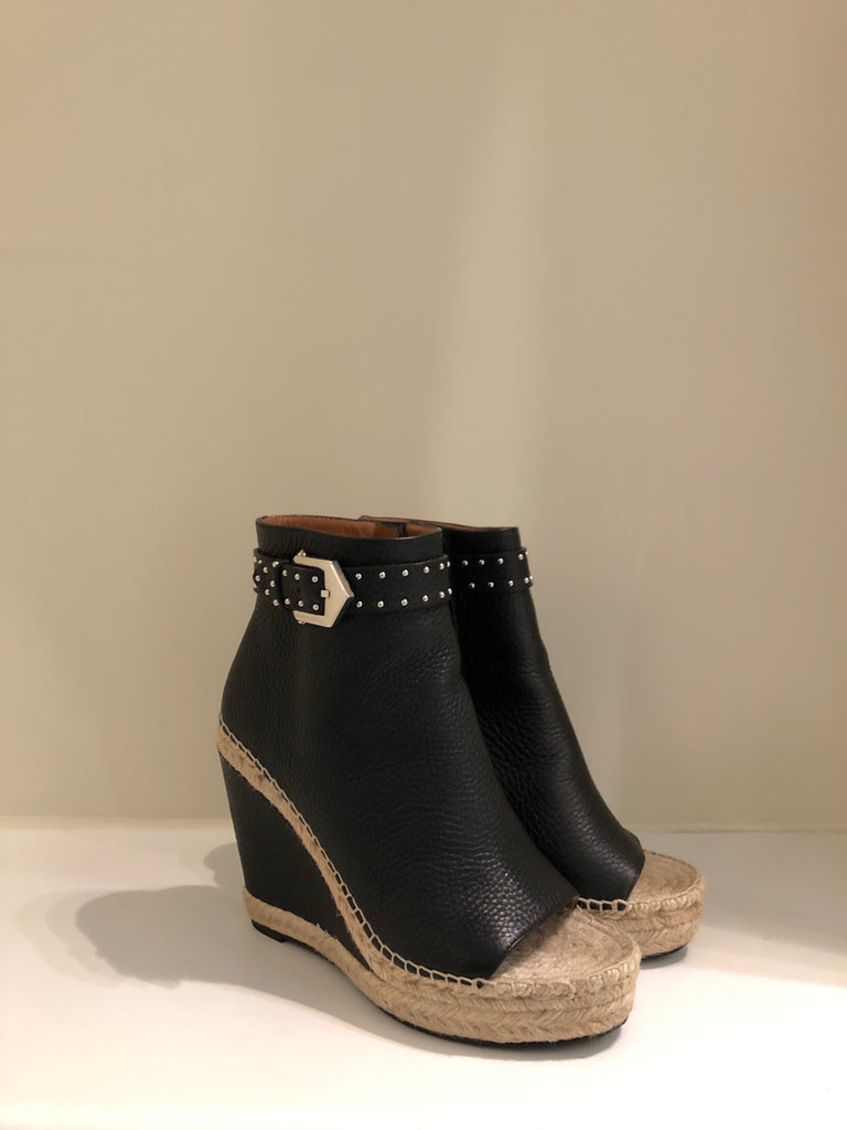 Studded Wedge Espadrille Shoe Boot by Givenchy