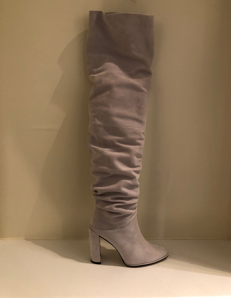 Histyle Pursue Slouchy Thigh High Boots by Stuart Weitzman