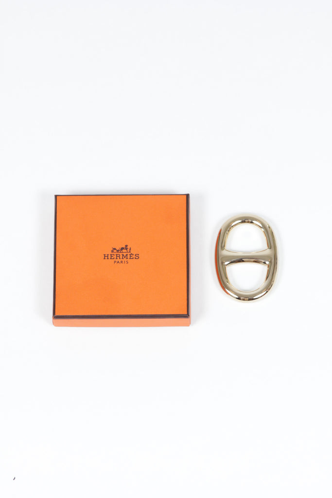 Chaine d'Ancre Scarf Ring by Hermes
