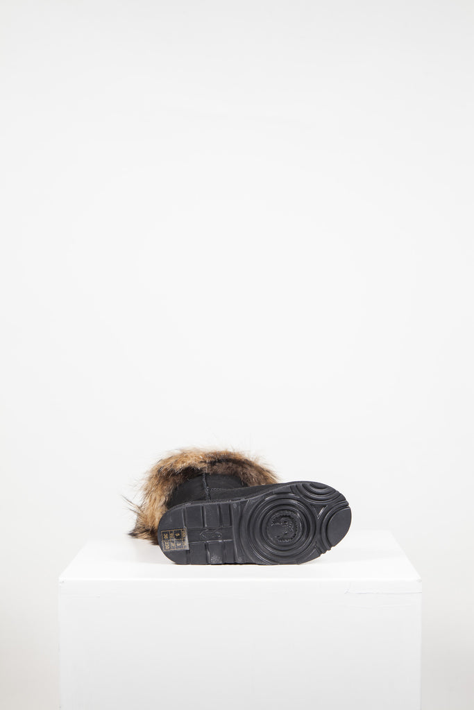 Sasa Low fur-trimmed boots by Kingdom Of Sheepskin