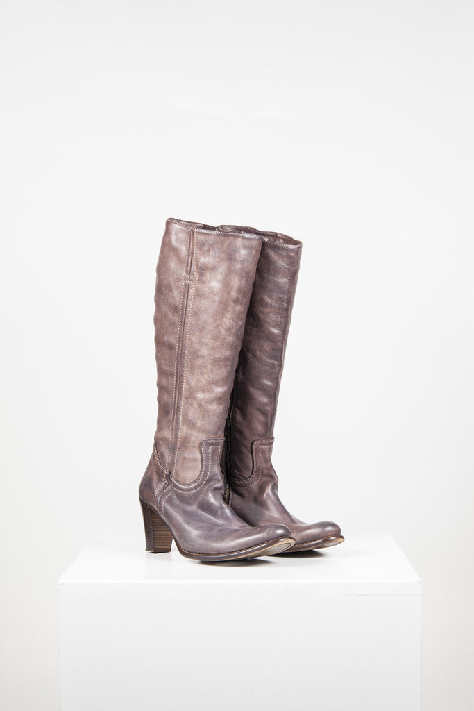 Knee-length boots by Paul Smith