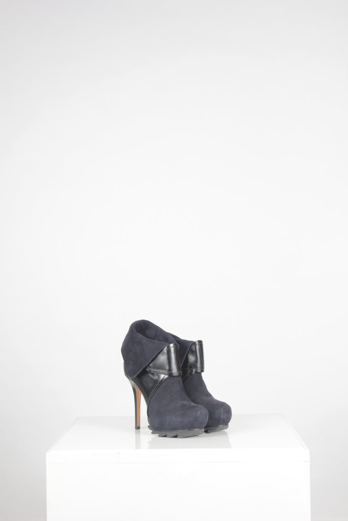 Serrated Platform Sole Ankle Boots by Camilla Skovgard