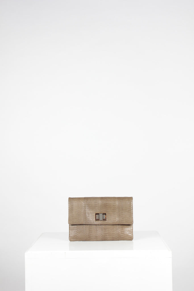 Valerie Snake Clutch by Anya Hindmarch