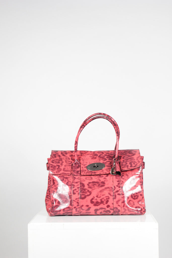 Smudged Leopard Bayswater by Mulberry