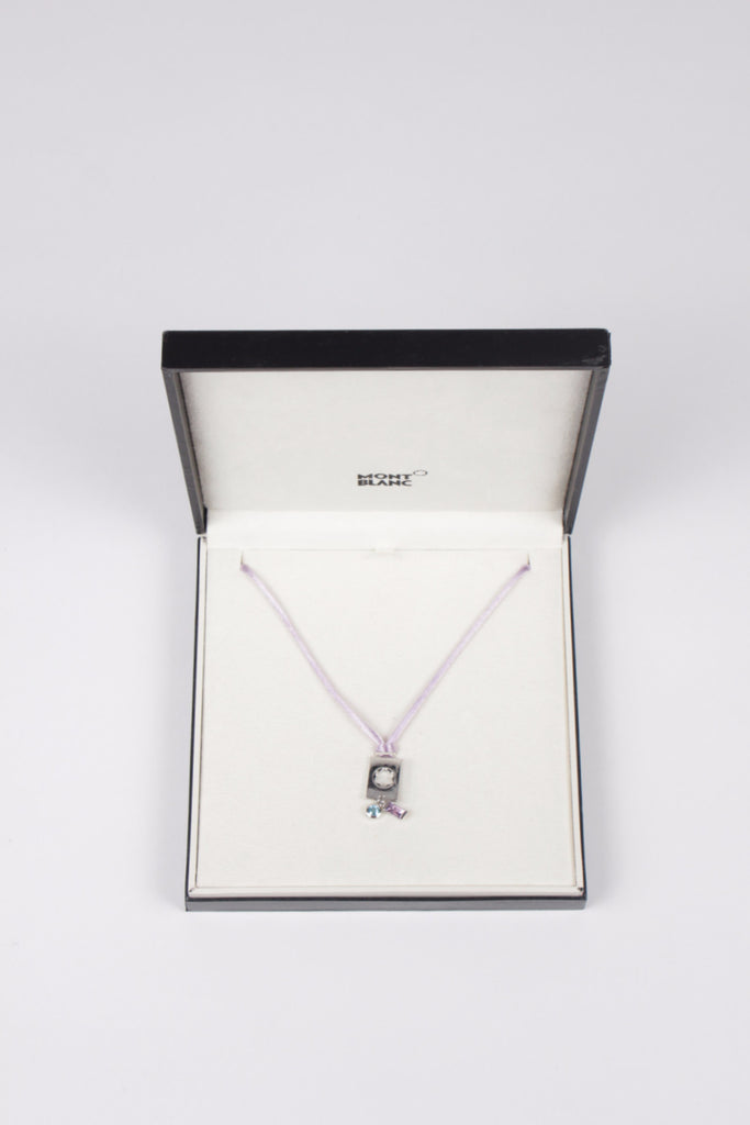 Boheme Collection Amethyst Necklace by Mont Blanc