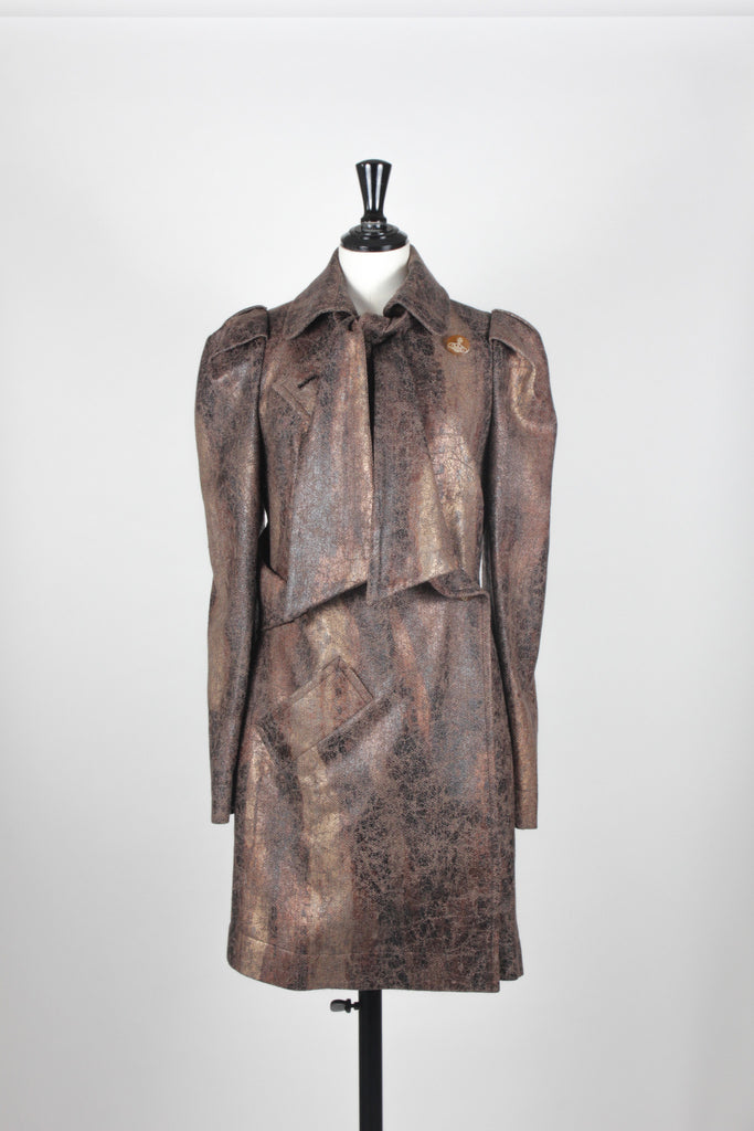 Signature Textured Coat by Vivienne Westwood Red Label