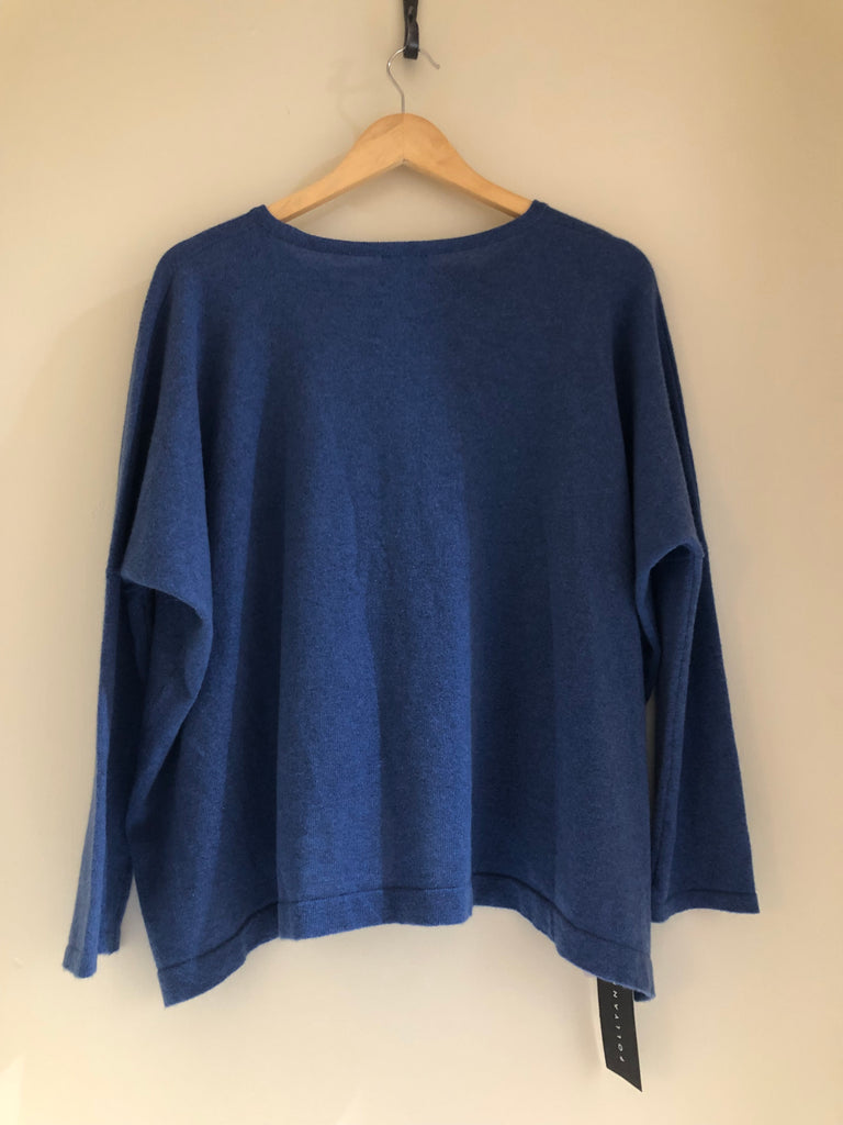 Cropped Crew Neck Jumper by Nomad Atelier