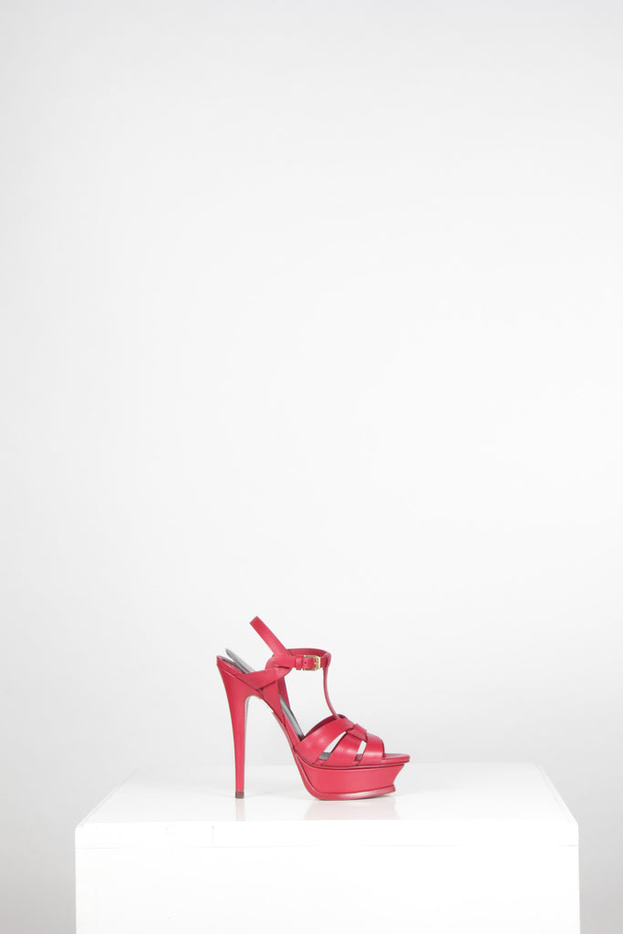 YSL Tribute Sandals 105 by Saint Laurent