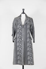 Embroidered sequinned coat by Voyage at Isabella's Wardrobe