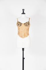 Textured bustier by Voyage at Isabella's Wardrobe