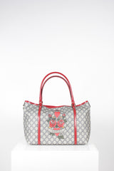Tattoo Hearts Love Joy Tote by Gucci at Isabella's Wardrobe