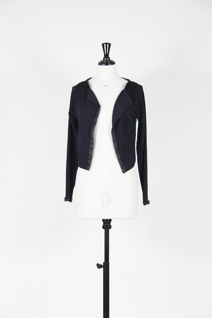 Organza back cardigan by Voyage