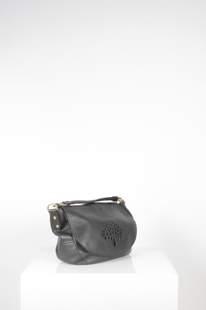 Effie Satchel  - Spongy Black by Mulberry