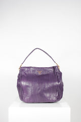 Viola Nappa Stripe Shoulder Bag by Prada at Isabella's Wardrobe
