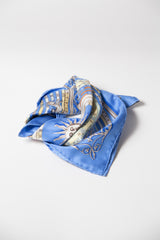 Dies et Hore astrologie small scarf by Hermes at Isabella's Wardrobe