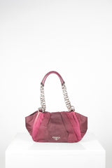 Ombre Tessuto Shoulder Bag by Prada at Isabella's Wardrobe