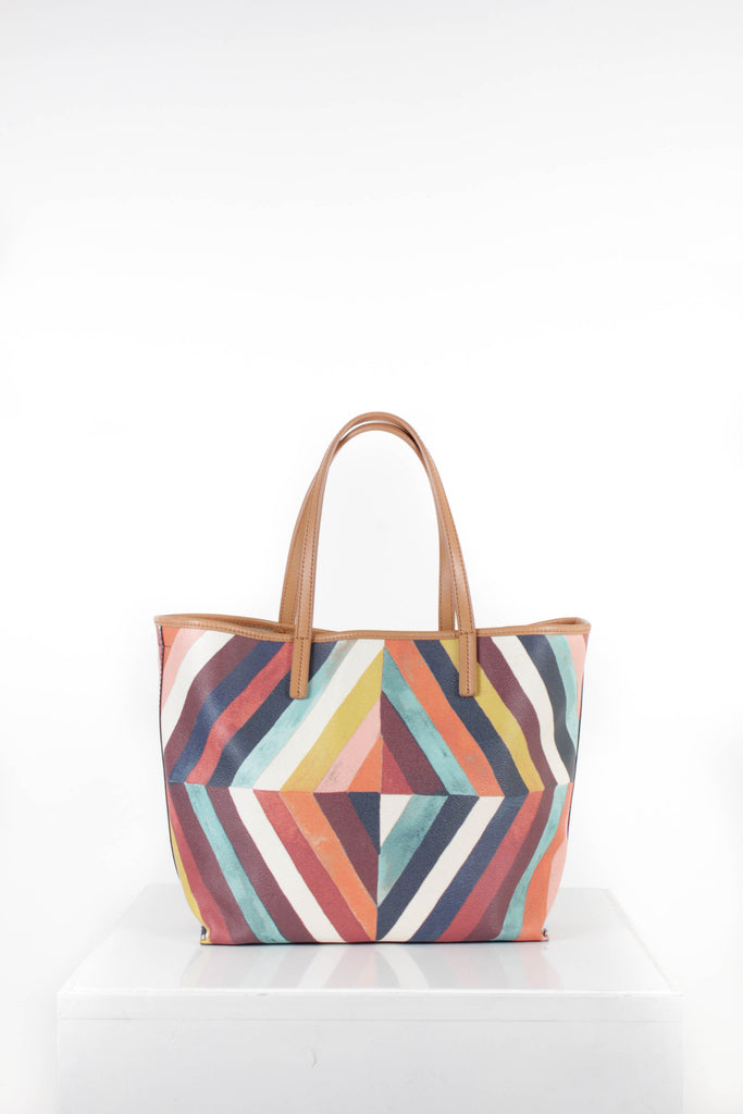 Large Kerrington Multicoloured Tote by Tory Burch