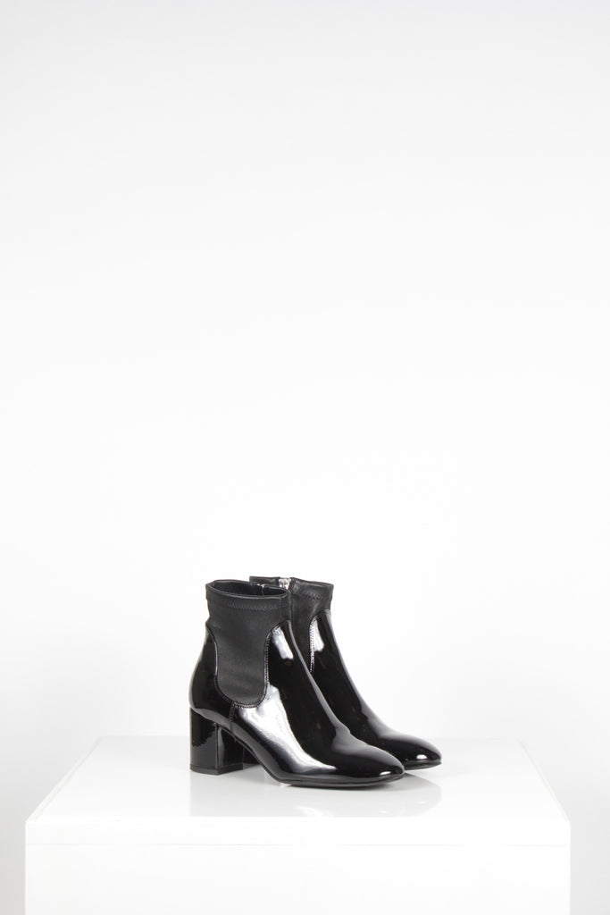 Shelley Patent Ankle Boots by L K Bennett