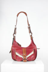 Vintage Leather Crossbody Bag by Vivienne Westwood at Isabella's Wardrobe