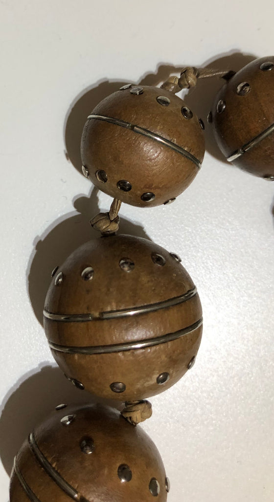 Wooden Ball Necklace by Prada