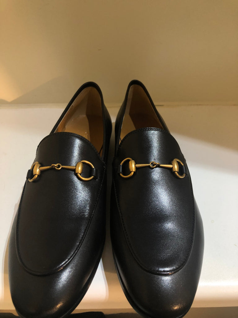 Jordaan Horsebit-detailed Leather Loafers by Gucci