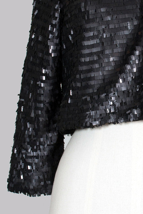 Sequinned Naomi jacket by Project D