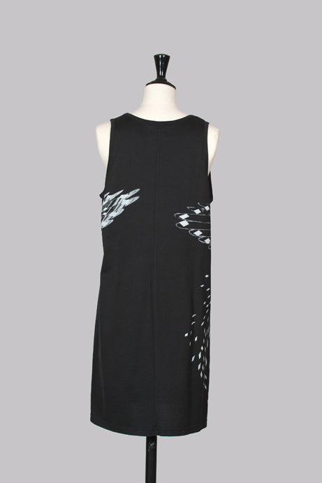Eagle pattern sleeveless tunic by Givenchy