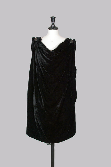 Velvet Gladiator dress by Vivienne Westwood Anglomania
