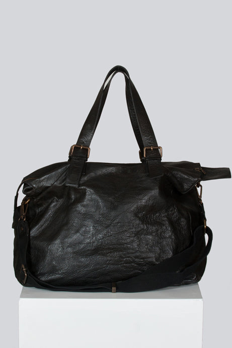 Leather travel bag by Belstaff