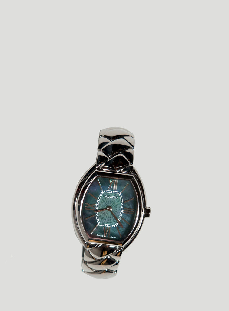 Quilted-effect bangle watch by Valentino