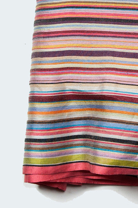Signature print scarf by Paul Smith